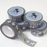 living design f masking tape gray