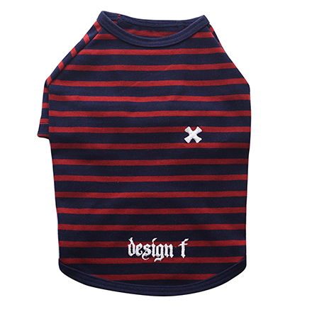 wear border RT cross navy x red