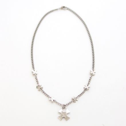 accessories cross titanium necklace