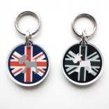 accessories cook search ID tag UK flag