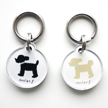 accessories cook search ID tag poodle