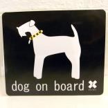 SALE50%OFF dog on board terrier
