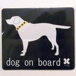 SALE50%OFF dog on board labradore