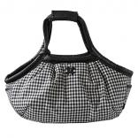 DB marshmallow bag gingham check black