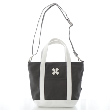 SALE30%OFF living walking tote charcoal x white