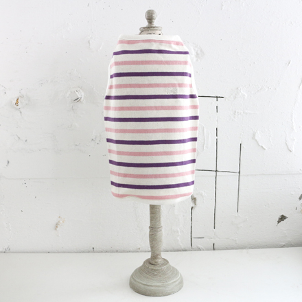 SALE20%OFF fadee border TT purple x pink Mのみ