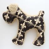 SALE20%OFF living dog plush toy schnauzer