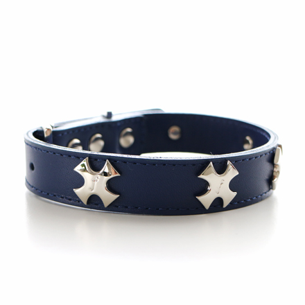 collar f  cross navy