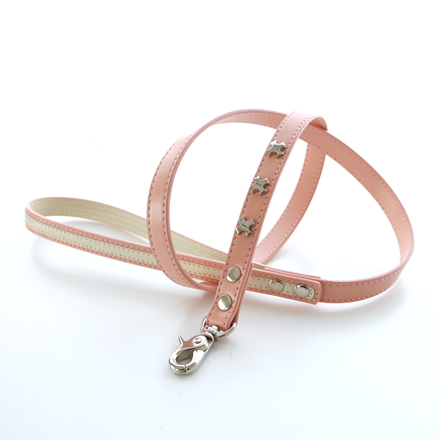 leash f line cross pink