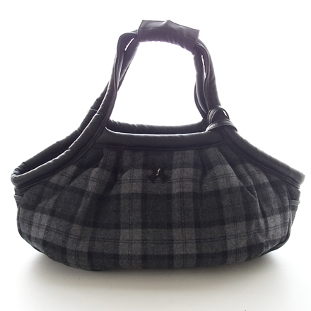 20%OFF DB marshmallow bag wool check
