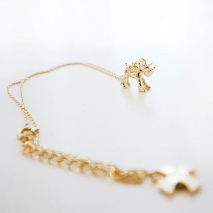 SALE20%OFF accessories f dog necklace for mom gold