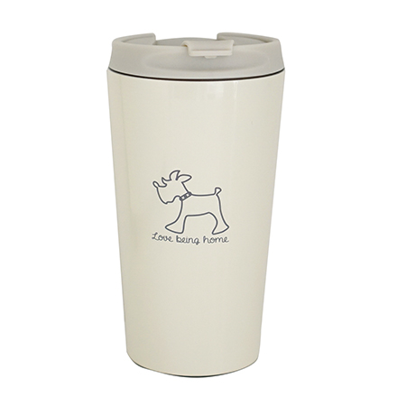 living f dog stainless steel vacuum tumbler
